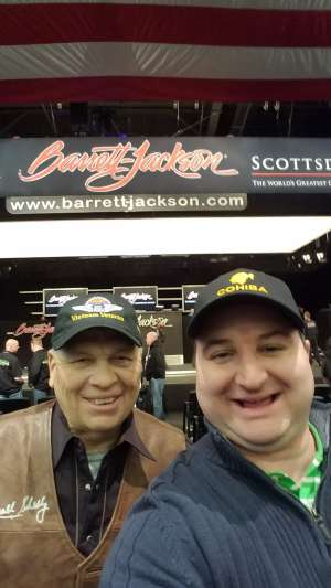 Larry attended 49th Annual Barrett-jackson Auction Company - Scottsdale 2020 - Friday on Jan 17th 2020 via VetTix