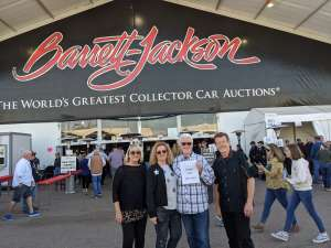 Murrell Duane attended 49th Annual Barrett-jackson Auction Company - Scottsdale 2020 - Friday on Jan 17th 2020 via VetTix