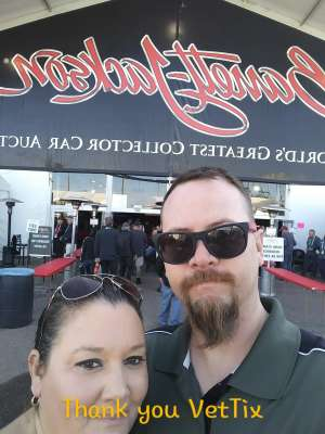 Robin attended 49th Annual Barrett-jackson Auction Company - Scottsdale 2020 - Friday on Jan 17th 2020 via VetTix