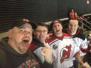 Ian attended New Jersey Devils vs. Tampa Bay Lightning - NHL on Jan 12th 2020 via VetTix