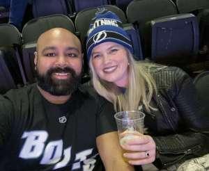 Britt attended New Jersey Devils vs. Tampa Bay Lightning - NHL on Jan 12th 2020 via VetTix