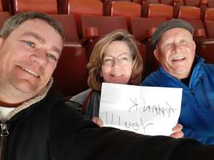 Roy attended Anaheim Ducks vs. Nashville Predators - NHL on Jan 5th 2020 via VetTix