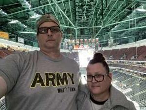 Pat attended Anaheim Ducks vs. Nashville Predators - NHL on Jan 5th 2020 via VetTix