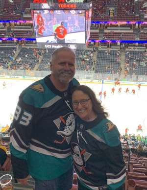Dennis attended Anaheim Ducks vs. Nashville Predators - NHL on Jan 5th 2020 via VetTix