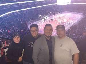 Richard attended Anaheim Ducks vs. Nashville Predators - NHL on Jan 5th 2020 via VetTix