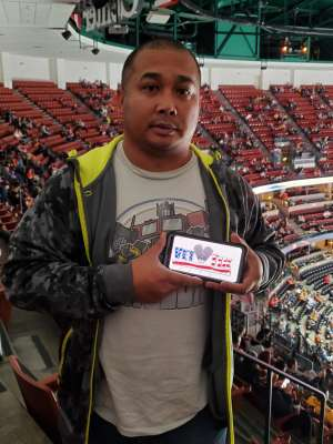 Eric Paul attended Anaheim Ducks vs. Nashville Predators - NHL on Jan 5th 2020 via VetTix