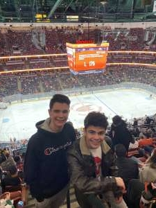 Andrew attended Anaheim Ducks vs. Nashville Predators - NHL on Jan 5th 2020 via VetTix