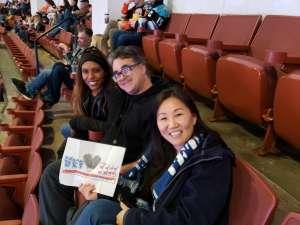Kristina attended Anaheim Ducks vs. Nashville Predators - NHL on Jan 5th 2020 via VetTix