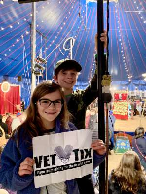 Michael attended Zoppe - an Italian Family Circus on Jan 2nd 2020 via VetTix