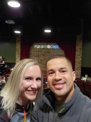 Adrian attended Dayton Funny Bone on Jan 12th 2020 via VetTix