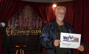 VJ attended Tickle Me Comedy Club on Jan 16th 2020 via VetTix
