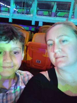 Erica attended Jurassic World Live Tour on Jan 9th 2020 via VetTix