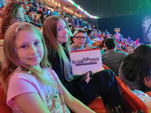 Tera attended Jurassic World Live Tour on Jan 9th 2020 via VetTix