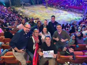 Karen attended Jurassic World Live Tour on Jan 9th 2020 via VetTix