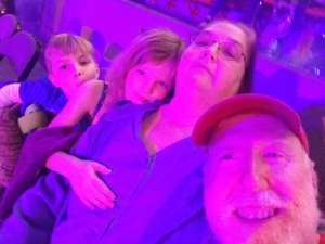 Duane attended Jurassic World Live Tour on Jan 9th 2020 via VetTix