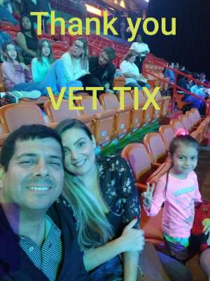 Renzo attended Jurassic World Live Tour on Jan 9th 2020 via VetTix