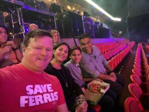 GORDON attended Jurassic World Live Tour on Jan 9th 2020 via VetTix