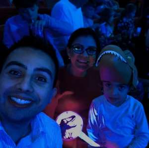 gman attended Jurassic World Live Tour on Jan 9th 2020 via VetTix