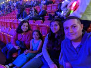 Rockie attended Jurassic World Live Tour on Jan 9th 2020 via VetTix