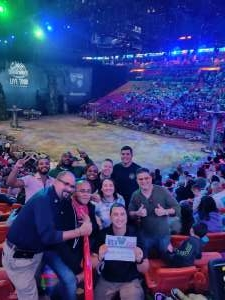 Yvensom attended Jurassic World Live Tour on Jan 9th 2020 via VetTix