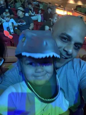 Arturo attended Jurassic World Live Tour on Jan 9th 2020 via VetTix