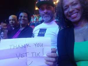 Nelson attended Jurassic World Live Tour on Jan 9th 2020 via VetTix
