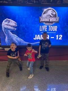 Vaitiere attended Jurassic World Live Tour on Jan 9th 2020 via VetTix