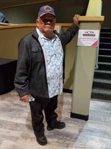 Manuel attended James Garner - a Tribute to Johnny Cash on Jan 10th 2020 via VetTix