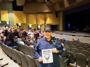 Donald attended James Garner - a Tribute to Johnny Cash on Jan 10th 2020 via VetTix