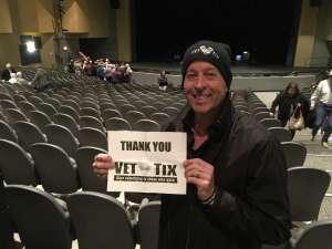 Frederick attended James Garner - a Tribute to Johnny Cash on Jan 10th 2020 via VetTix