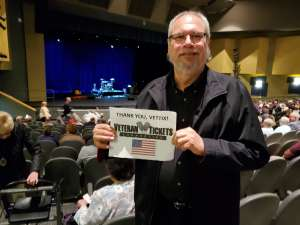 Philip attended James Garner - a Tribute to Johnny Cash on Jan 10th 2020 via VetTix