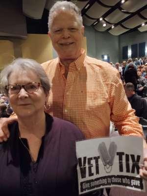 John attended James Garner - a Tribute to Johnny Cash on Jan 10th 2020 via VetTix