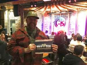 David attended Copper Blues Live on Jan 16th 2020 via VetTix