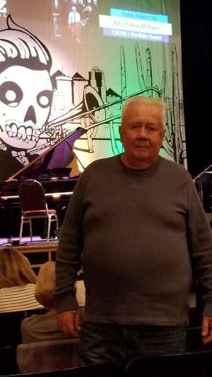 William attended Allison Millers Boom Tic Boom - Tucson Jazz Festival on Jan 15th 2020 via VetTix