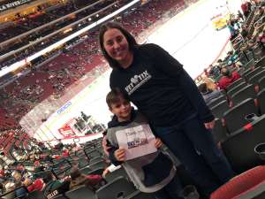 Click To Read More Feedback from Arizona Coyotes vs. San Jose Sharks - NHL