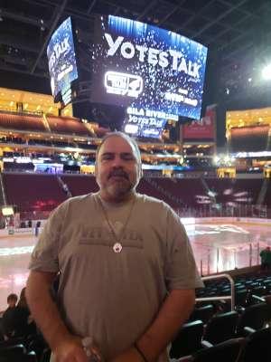 Shannon attended Arizona Coyotes vs. San Jose Sharks - NHL on Jan 14th 2020 via VetTix
