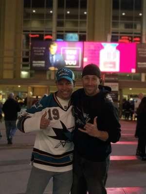 Jeremiah attended Arizona Coyotes vs. San Jose Sharks - NHL on Jan 14th 2020 via VetTix