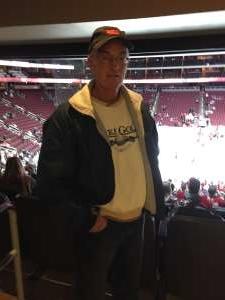 Keith attended Arizona Coyotes vs. San Jose Sharks - NHL on Jan 14th 2020 via VetTix