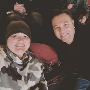 Raphael attended Arizona Coyotes vs. San Jose Sharks - NHL on Jan 14th 2020 via VetTix