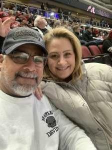 Samuel attended Arizona Coyotes vs. San Jose Sharks - NHL on Jan 14th 2020 via VetTix
