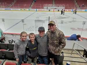 Sean attended Arizona Coyotes vs. San Jose Sharks - NHL on Jan 14th 2020 via VetTix