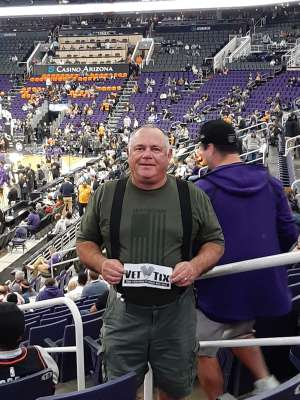 Joe attended Phoenix Suns vs. Sacramento Kings - NBA on Jan 7th 2020 via VetTix
