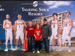 Ron attended Phoenix Suns vs. Sacramento Kings - NBA on Jan 7th 2020 via VetTix