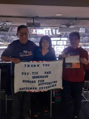 David attended Phoenix Suns vs. Sacramento Kings - NBA on Jan 7th 2020 via VetTix
