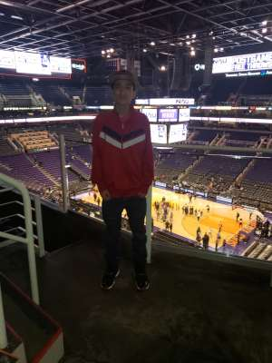 Mel attended Phoenix Suns vs. Sacramento Kings - NBA on Jan 7th 2020 via VetTix