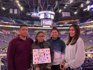 Cameron attended Phoenix Suns vs. Sacramento Kings - NBA on Jan 7th 2020 via VetTix