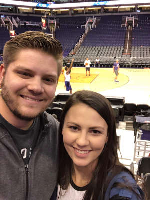 (AJ) attended Phoenix Suns vs. Sacramento Kings - NBA on Jan 7th 2020 via VetTix