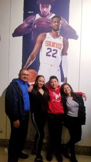 Francisco attended Phoenix Suns vs. Sacramento Kings - NBA on Jan 7th 2020 via VetTix