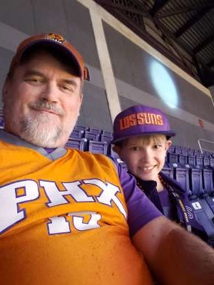 Robert attended Phoenix Suns vs. Sacramento Kings - NBA on Jan 7th 2020 via VetTix