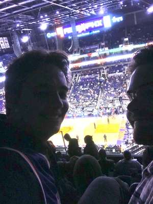 Todd attended Phoenix Suns vs. Sacramento Kings - NBA on Jan 7th 2020 via VetTix